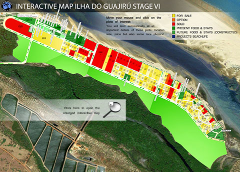 Click to visit the Interactive Masterplan of Ilha do Guajiru!